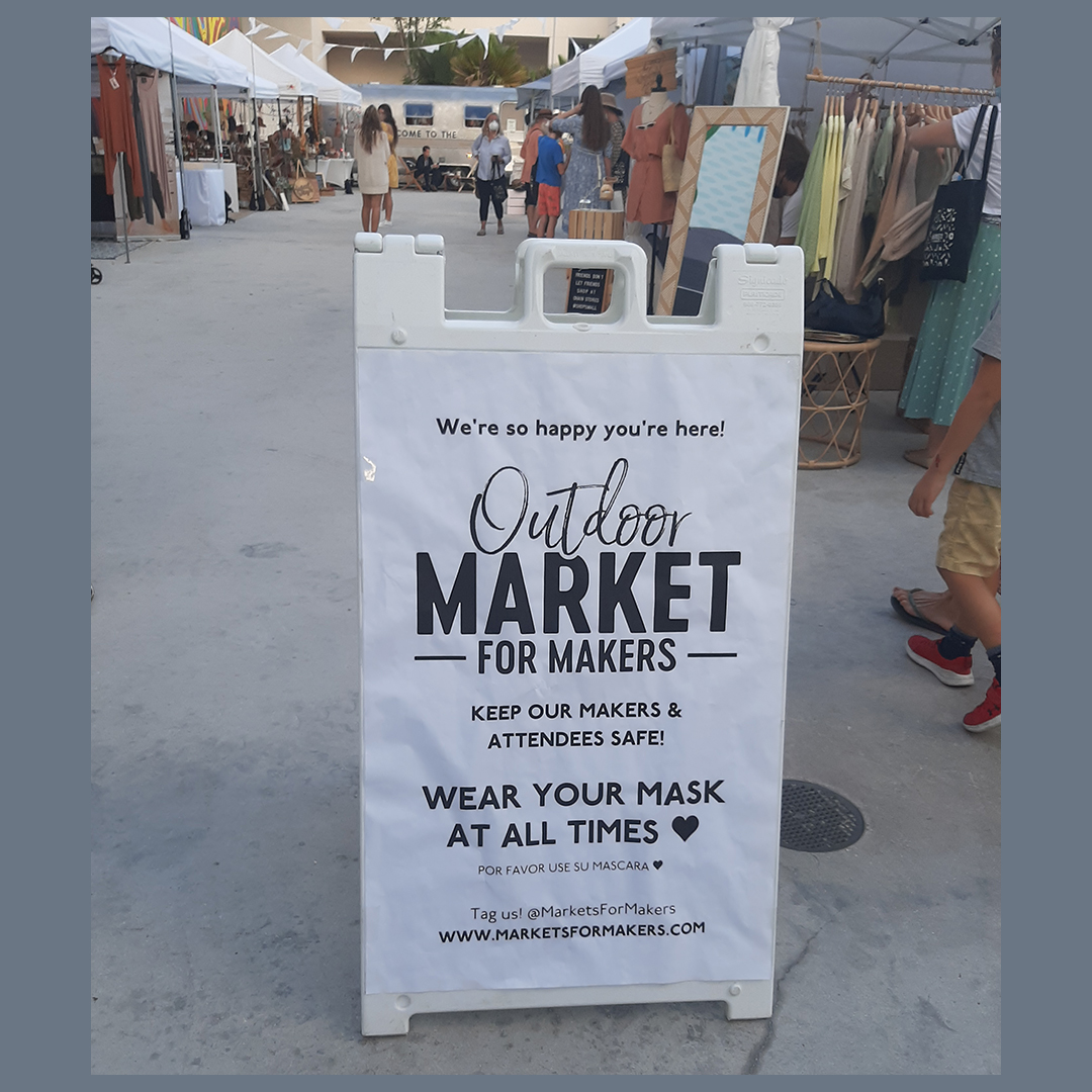 Market For Makers Welcome sign..jpg